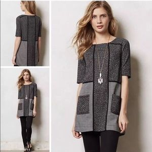 Anthro. Meadow Rue Mitzie Channel Tunic